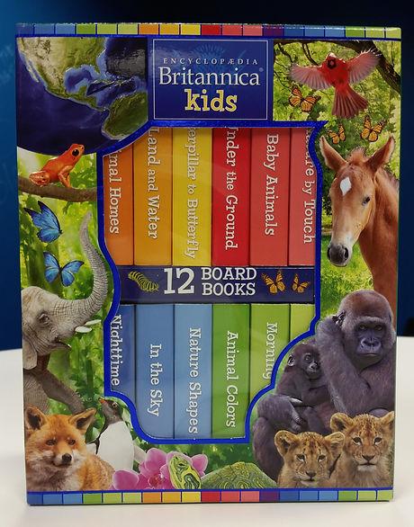 Britannica First Library box
