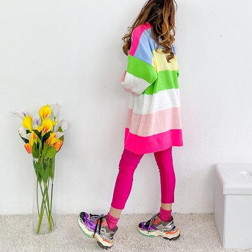 Maxi maglione Rainbow