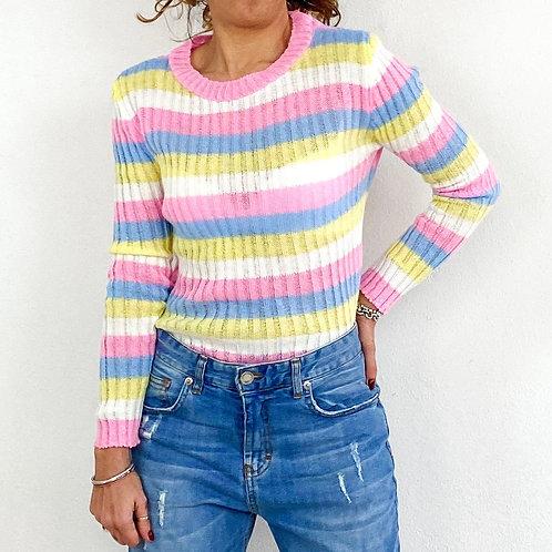 Maglioncino Stripes multicolor