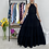 Thumbnail: Maxi black dress