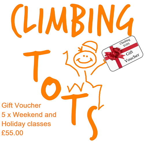 Gift Voucher - 5 Weekend or Holiday classes