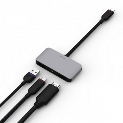 Unisynk Universal USB-C Docking Hub 1 TO 3