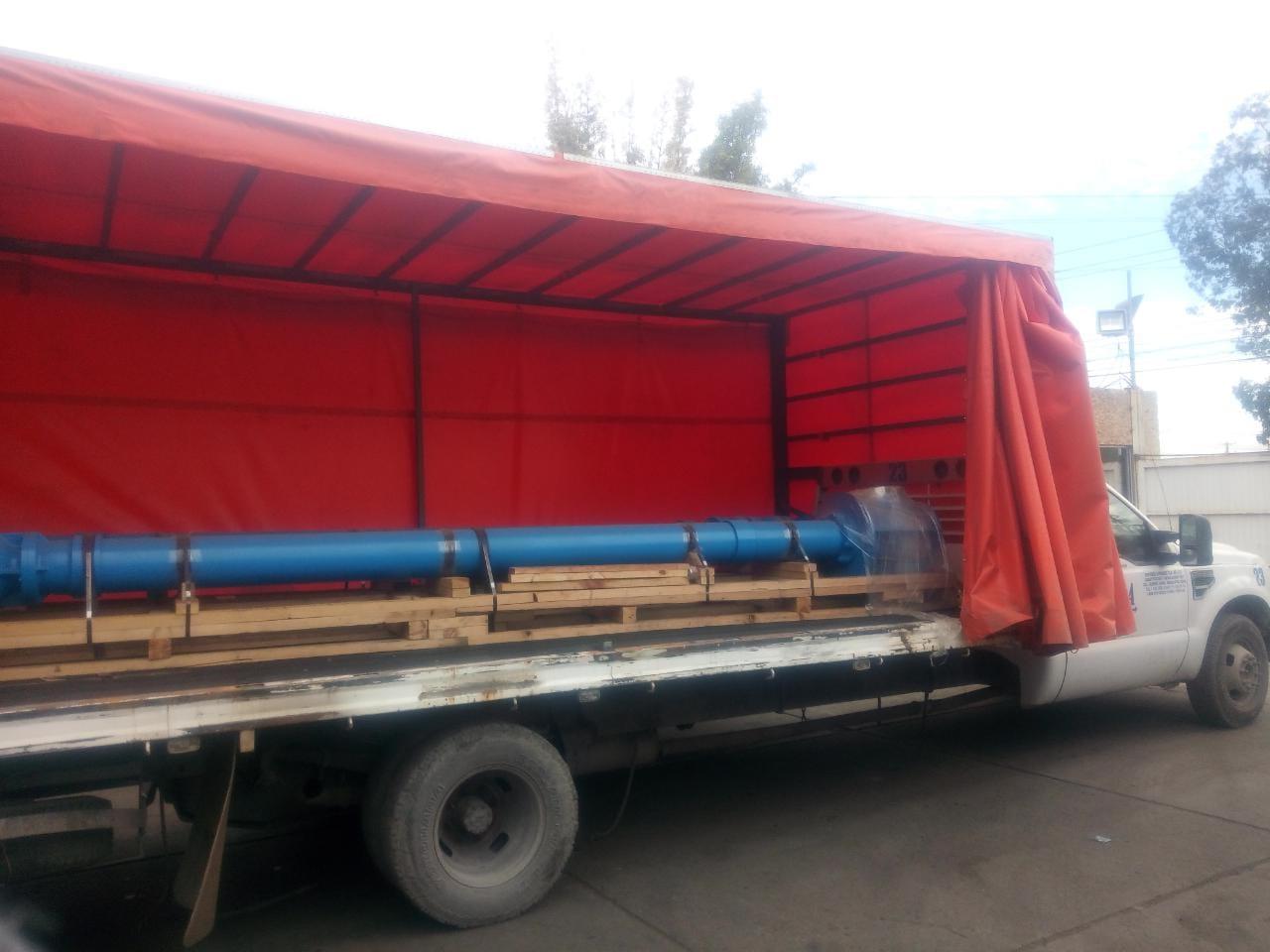 Camion 3.5 tons con Cortina