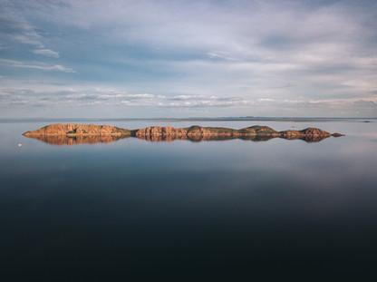 Lake ARgyle Islands