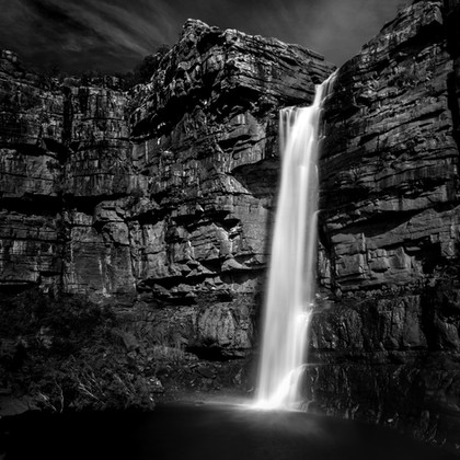 Wet Season in Black and White