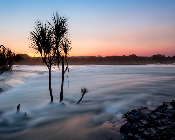 Soft Sunset Ivanhoe Crossing