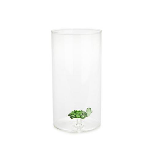 Vase cylindrique ATLANTIS vert