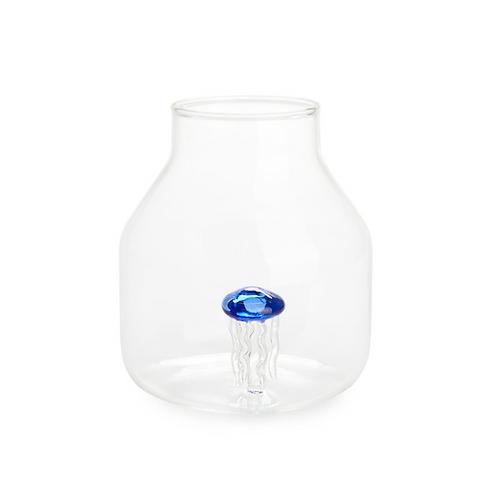 Vase conique ATLANTIS bleu
