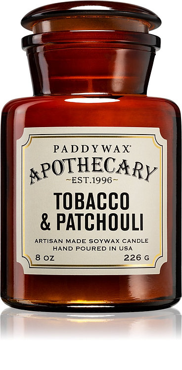 Bougie Apothecary - Tobacco & Patchouli