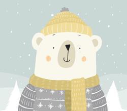 polar bear Greetings Card_claire keay_edited