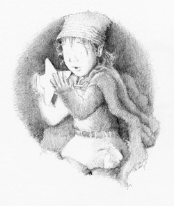 claire keay pencil pixie and star 1