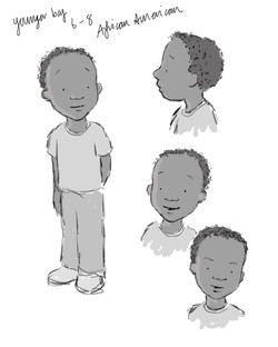 younger boy 6_8 african american