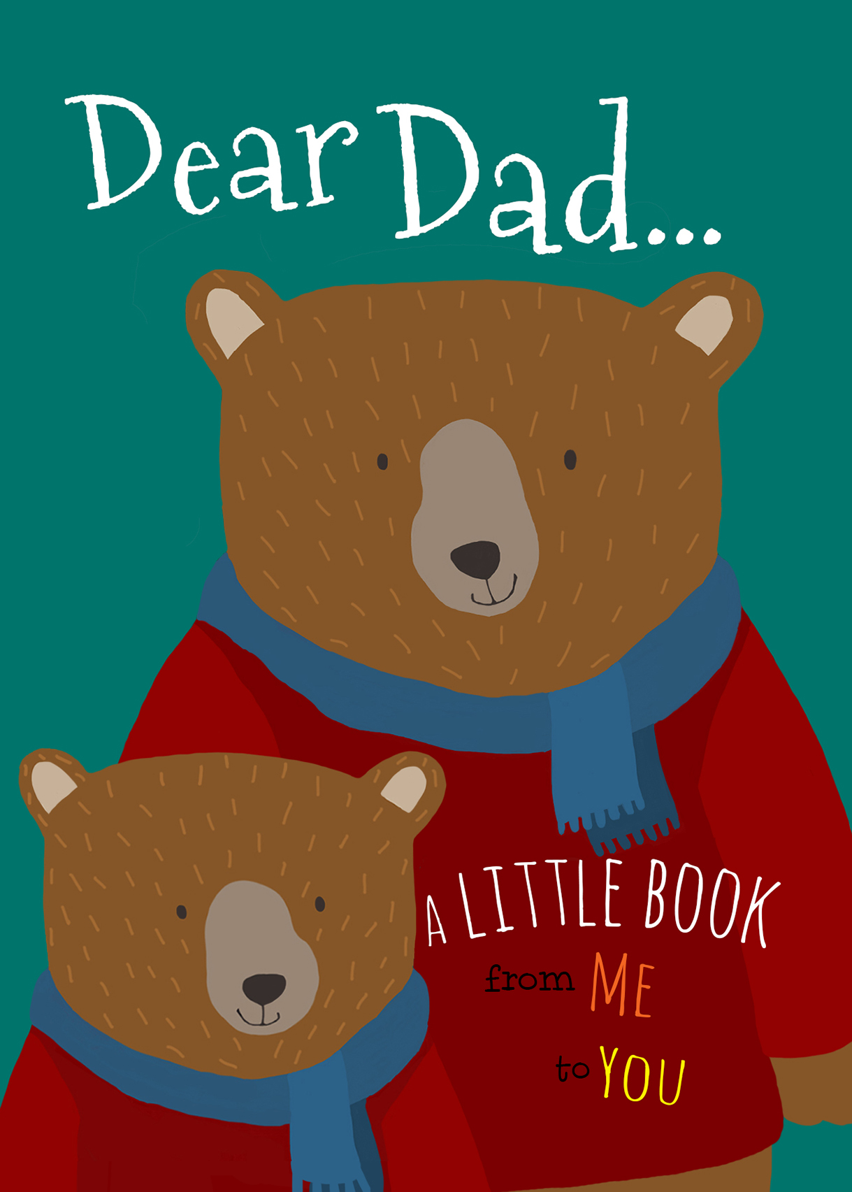 claire keay_dad and son bear