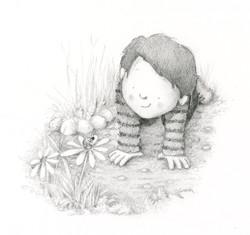 pencil boy and bug