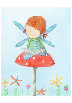 claire keay_fairy toadstool