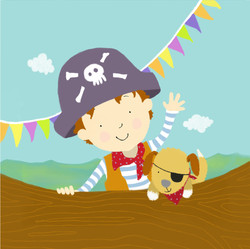 claire keay_pirate and dog