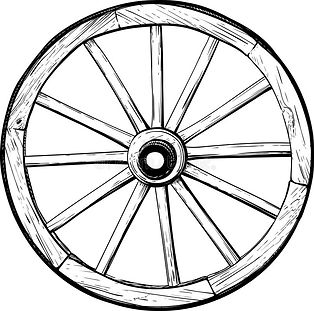 old-wooden-wheel-spokes-horse-carriage-i