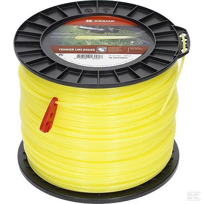 Fil de coupe Ø 3mm 281m rond jaune