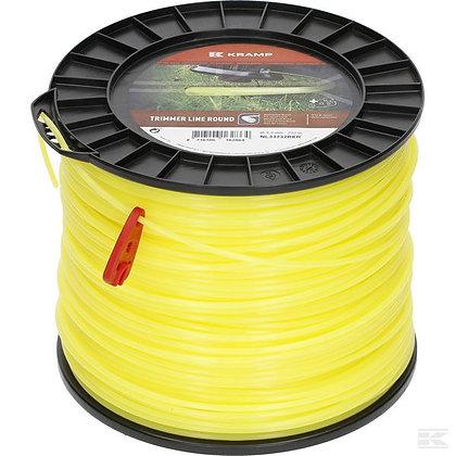 Fil de coupe Ø 3.3mm 232m rond jaune