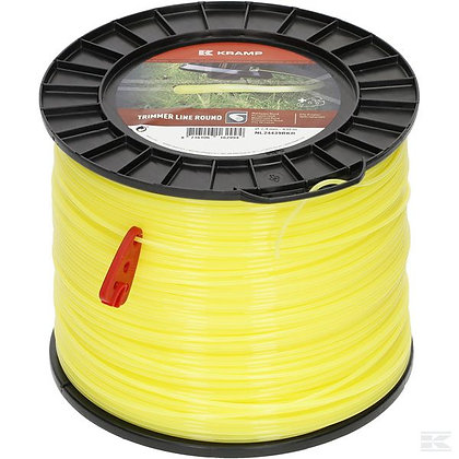 Fil de coupe Ø 2.4mm 439m rond jaune Kramp