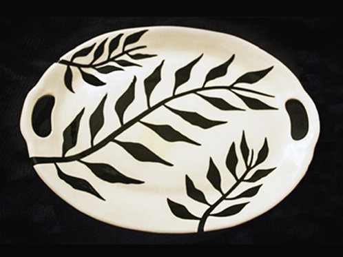 By God's Grace Ceramic Platter