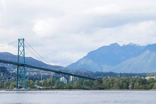 Lions Gate Bridge Vancouver, BC, 2016