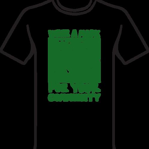 Deyasha Mask Green T-shirt