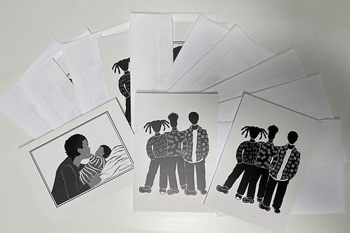 Greeting Cards- Set of 3
