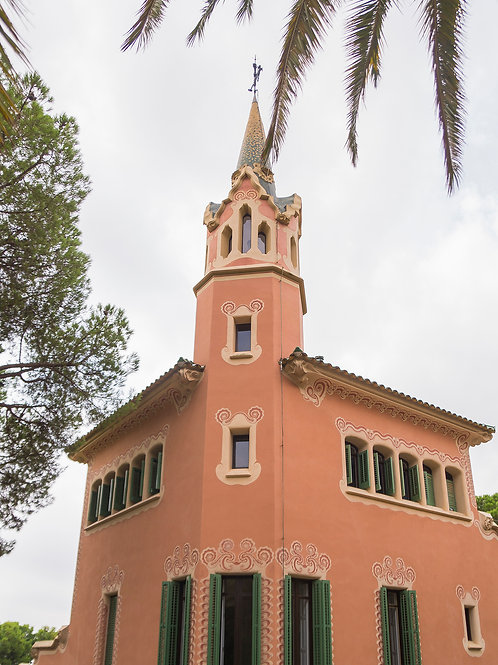 Gaudi House Museum  Barcelona, Spain, 2018