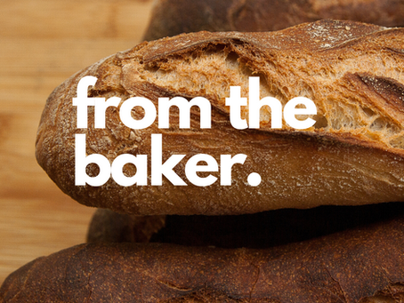 Grocery service update - from the baker