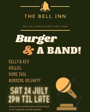 Burger & a Band poster.png