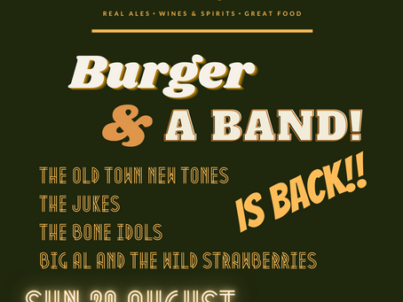 Burger & a Band - Part Two!