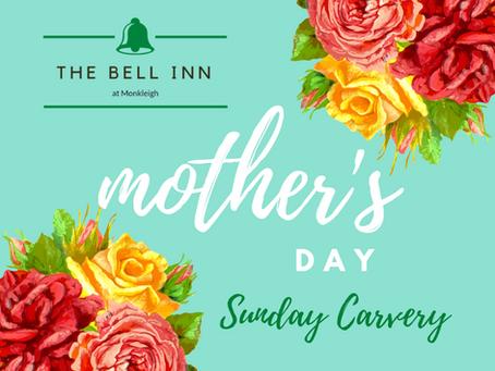 Mothering Sunday - bookings now being taken!