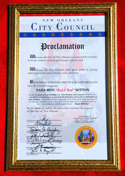 2015 KaLi' Red Day PROCLAMATION 12-11-15