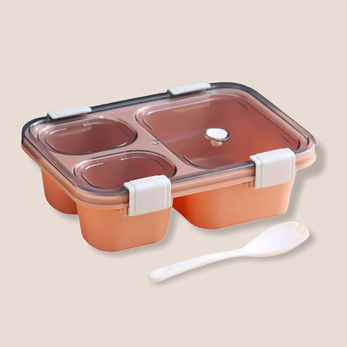 Pink Grab & Go Bento Lunch Box