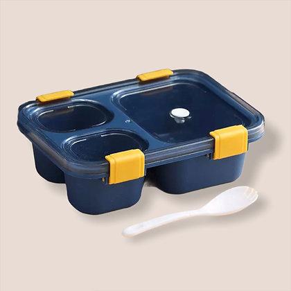 Blue Grab & Go Bento Lunch Box