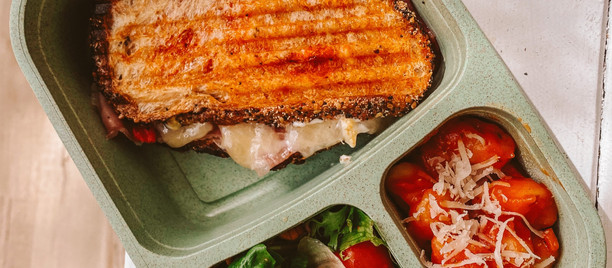 Sandwich + Salad + Pasta Combo