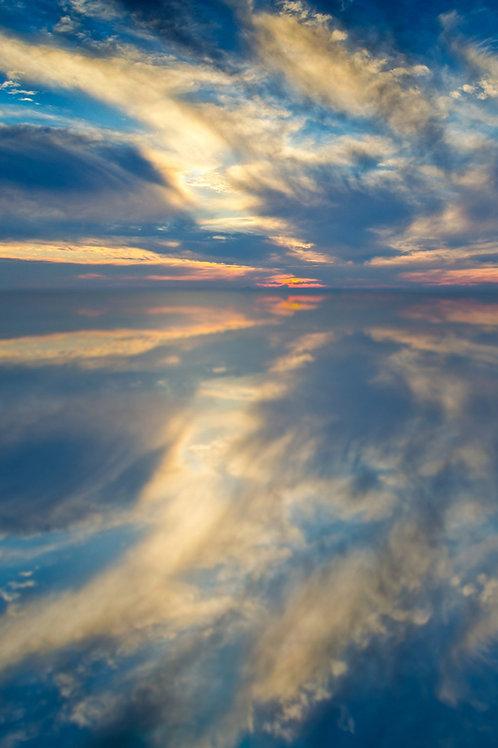 Sfondo cielo tramonto