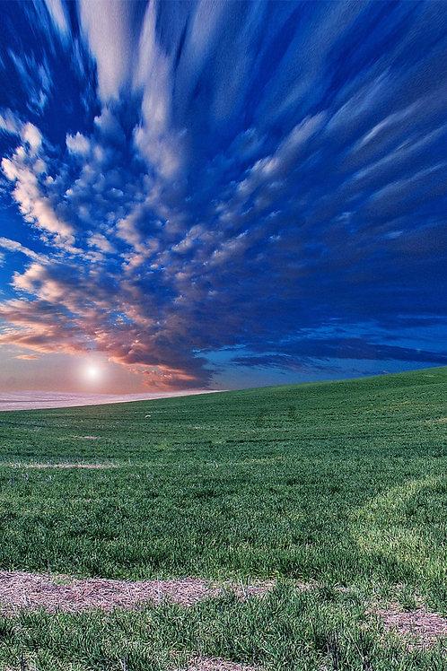 Sfondo tramonto