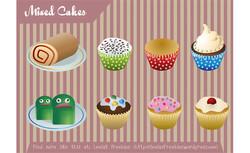 Mixed Cakes