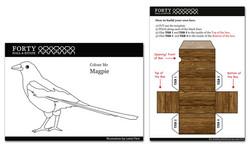 Magpie Treasure box sheets