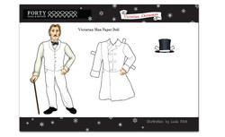 Victorian Man doll