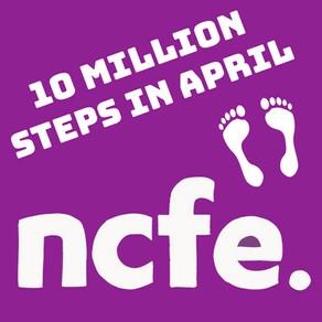 10 Million Steps in April