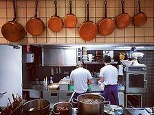 En direct des cuisines où l'on vous prép