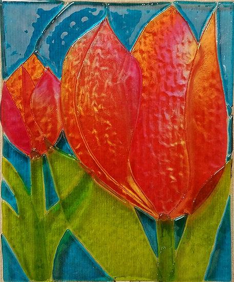 Dutch Orange Tulips