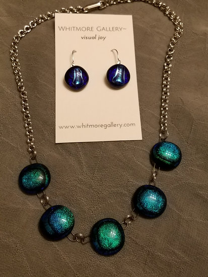 Taos Winter 5 piece necklace and earrings