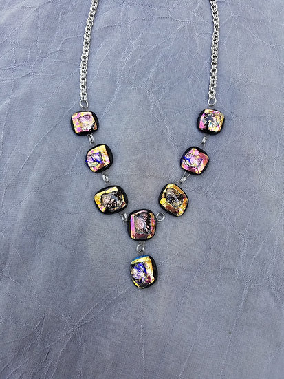 Geod Mini Drop Center Necklace