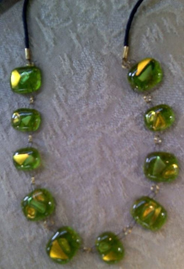 Peridot Multiple Piece Necklace
