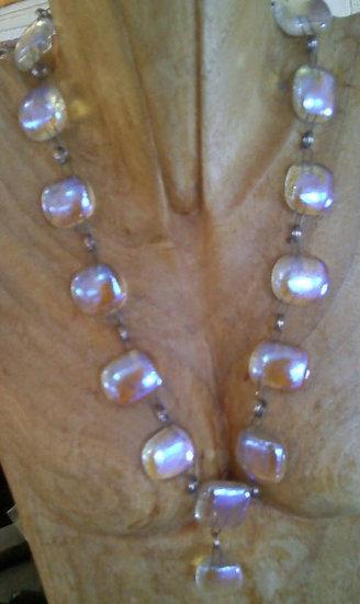 Luminosity Full Wrap Drop Center Necklace