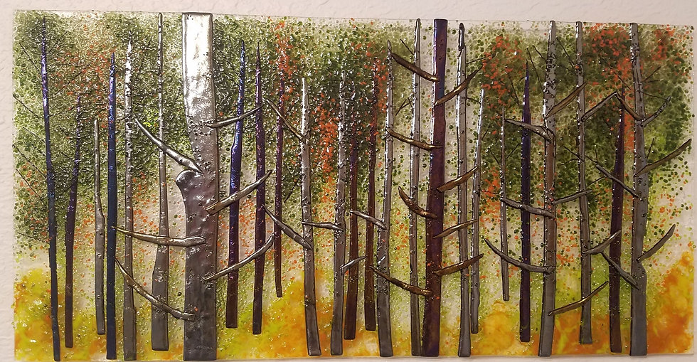 "Evergreen Forest 12""x24"""